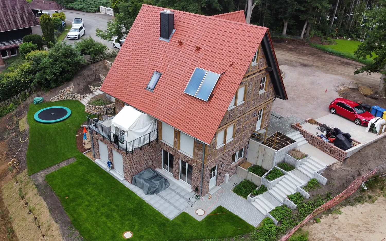 Wohngebäude Planung und Ausführung